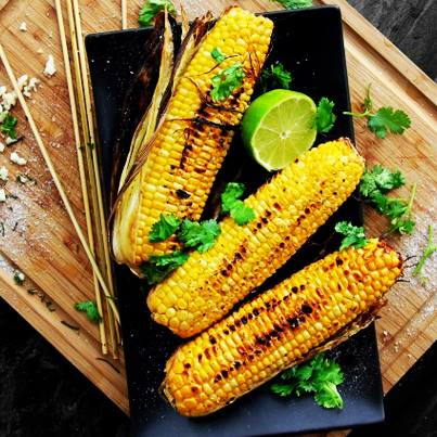 Try the refreshingly new Lebanese style corn on the cob at Foodhall. A bit of zatar, a hint of sumac and lots of lime juice!