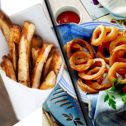 Be it french fries or onion rings or pakodas, fried foods rule the roost this rainy season.