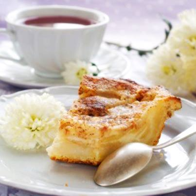 The goodness of tea and the wholesomeness of #pie make for a great post dinner #treat.