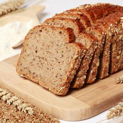 High fibre bread - made from rye and oatmeal - is a super healthy bread that will make your sandwich taste all the more delish!