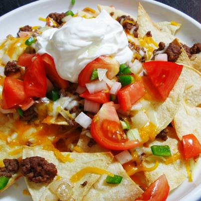 Baked Nacho chips with salsa dip is a snack worth feasting on.