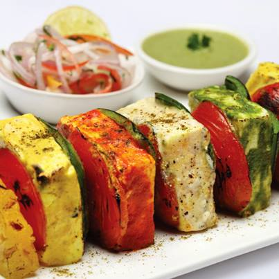 Grilled paneer infused with Italian flavours is an appetiser we cannot get enough of.