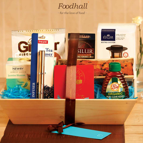 For all the tea connoisseurs out there Foodhall has brought together a one of a kind High Tea Elegance gifting basket. #gifts #ideas