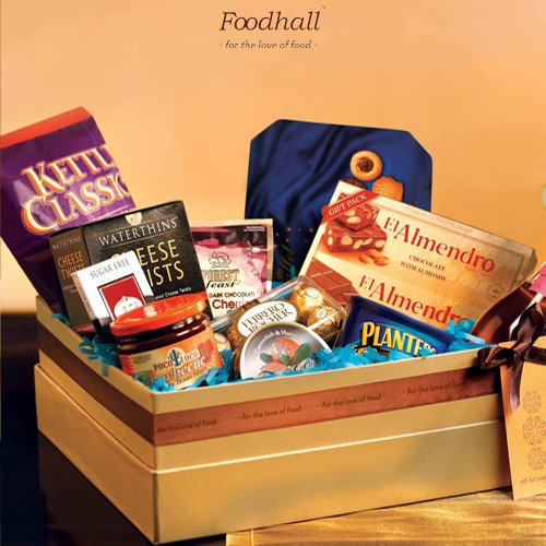Gift friends and family a basket full of happiness and joy this Dussera. #Foodhall #gifting