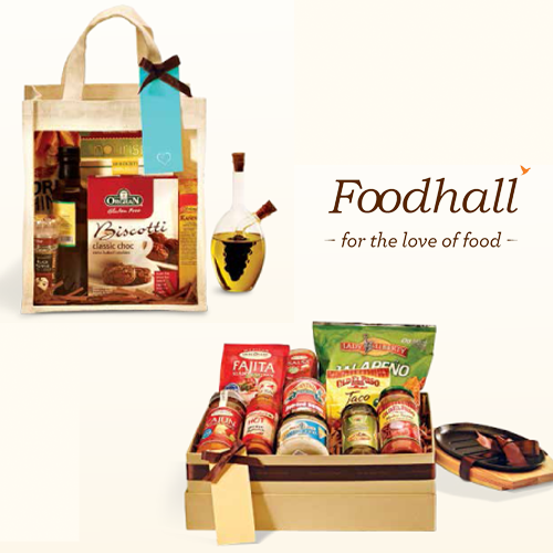 Get a customised Foodhall Gift Hamper to gift to your friends/family. #gifts #gifting