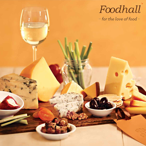 A plate full of a variety of cheeses makes for a great accompaniment platter at any #party. #ideas #ServeWithWine