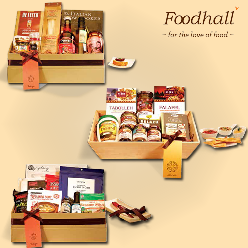 Foodhall offers customised #gifting solutions for corporates and families. Meet our store manager to know more, today! #gifts
