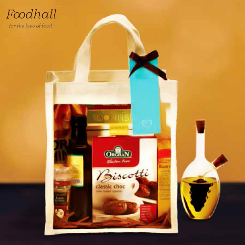 Send your wedding invite with a customised gift hamper specially designed by Foodhall for the occasion and impress your guests.