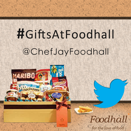 Did you participate in our twitter #Contest yet? Follow @ChefJayFoodhall for more. #GiftsAtFoodhall