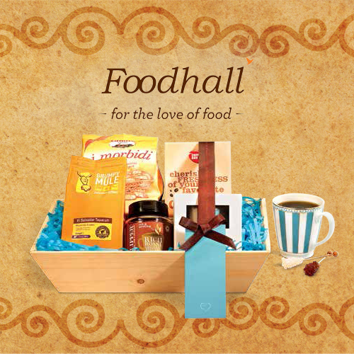 Coffee connoisseurs rejoice! The Coffee gift hamper comes with organic coffee and delicious accompaniments. A #MustHave.
