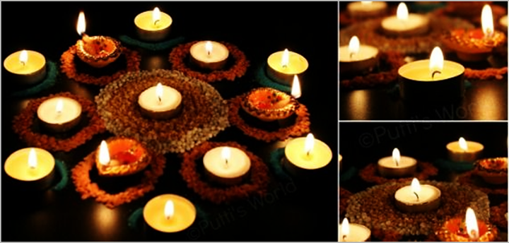 Bring out the diyas and the rangoli designs. #Diwali is here! :D