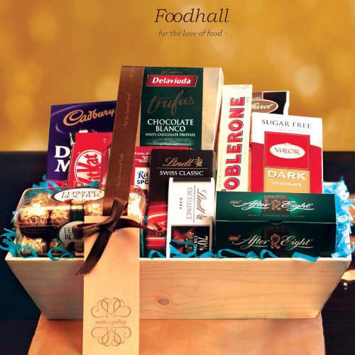 Gift your darling sister a Foodhall Chocolate Gift Hamper this Bhau-beej. And hope she shares it with you! ;)
