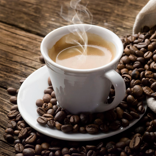 Freshly ground coffee smells brilliant and tastes even better. Just what you need to kickstart your day!