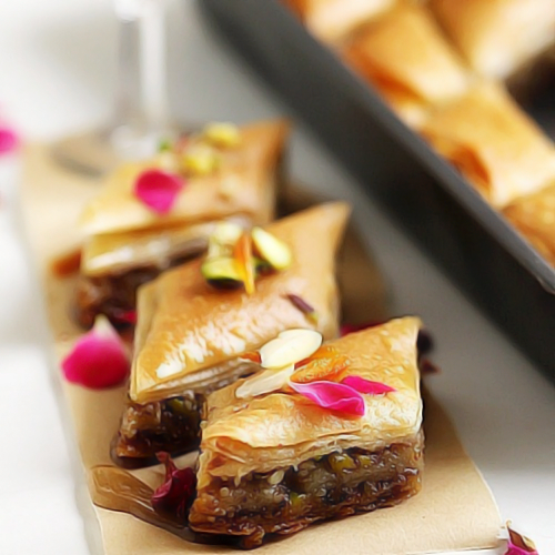 Have you tasted the Baklava at Foodhall yet?! #OhSoYummy #MustTry #NOW