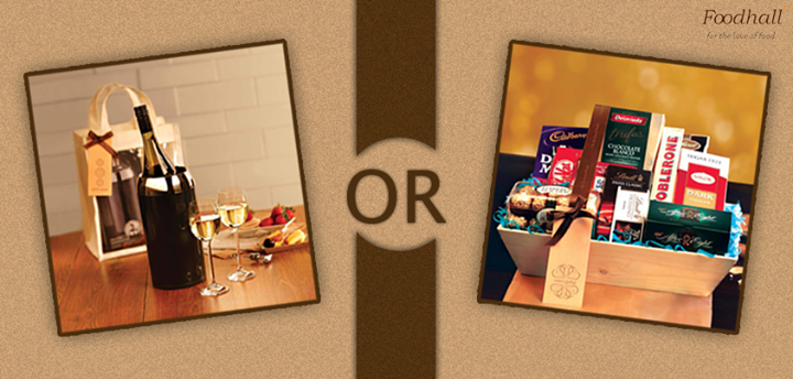 Chocolates or wine - which is the #gift hamper of your choice?