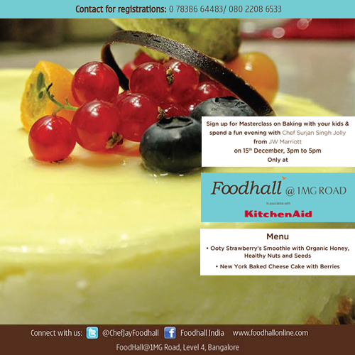 #Bangalore! #Kids #Masterclass is coming to your town. Are you ready to bake? :D