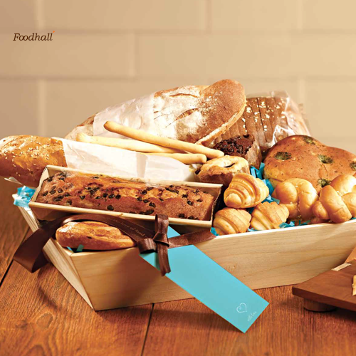 Few foods taste as good as freshly baked bread. Come, buy your share from Foodhall.