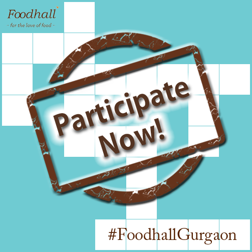 Hey Guys! Have you participated in our #FoodhallGurgaon contest on Twitter yet? If not, participate right now, #Contest is on in full swing.