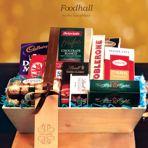 The chocolate gift hamper has all the goodness and sweetness that can be shared!