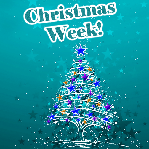 And say hello to Christmas week! :D