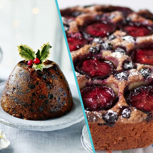 Plum Cake or Christmas Pudding - what's your X'mas dessert choice?