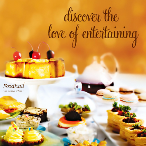 Hosting a party at home? Leave the catering to Foodhall Entertaining. Shop online and we'll deliver the food right at your doorstep. http://www.foodhallonline.com/EntertainingItems