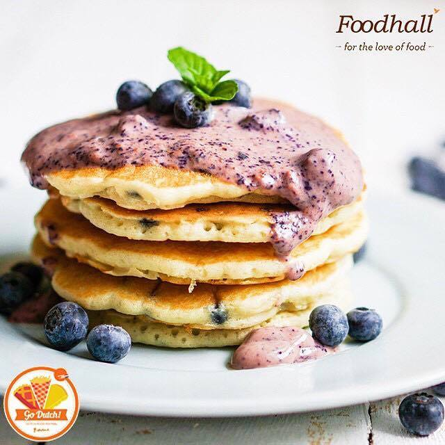 #HollandMeetsMumbai   Go Dutch with scrumptious Blueberry Pancakes, Iconic Stroop Waffles and a variety of Dutch specials at Foodhall @ Palladium Mumbai   Join us for the Dutch Food Fest on till the 6th of June'15 at our store!
