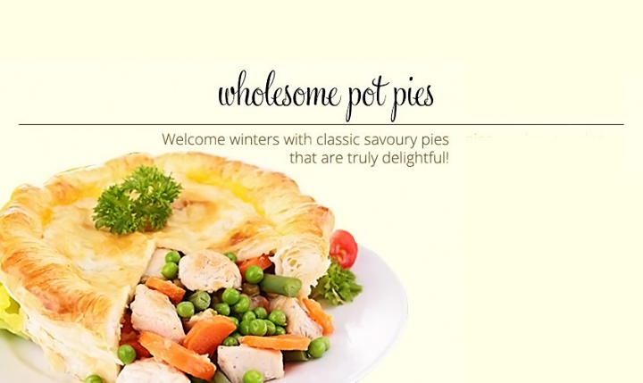 Cool #winter evenings get more cozy with some warm pies :)