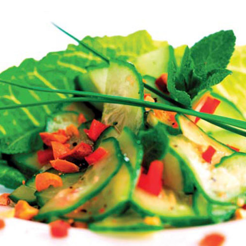 Stay healthy with this refreshing Green Cucumber #Salad: http://www.foodhallonline.com/Recipes/Green-Cucumber-Salad/23
