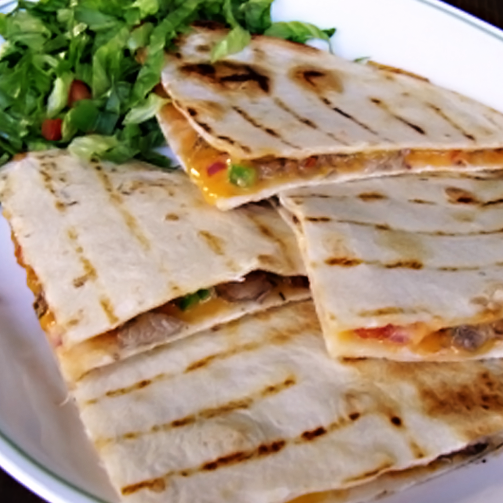 Quesadillas - nothing gets as authentically #mexican as this!