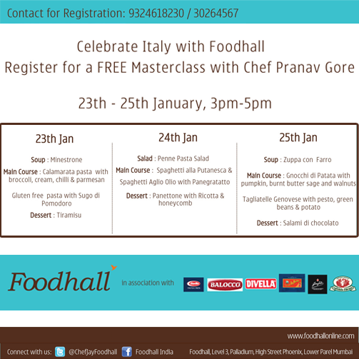 Cook like the masters with Foodhall's #Masterclass! #Mumbai :)