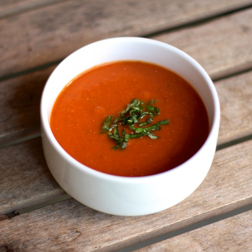 #Tomato and basil soup - as simply delicious as it gets :)