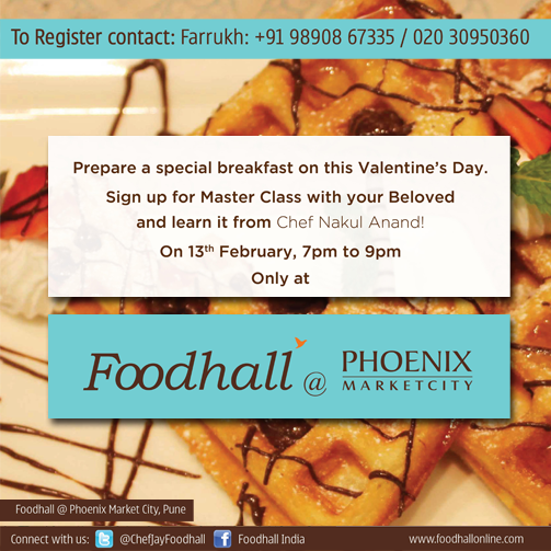 Looking for something special to do for Valentine's day? How about a cooking class with your better half :) #Pune
