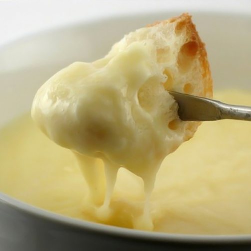 We know just the two words that will put a big smile on your face - Cheese Fondue! :D