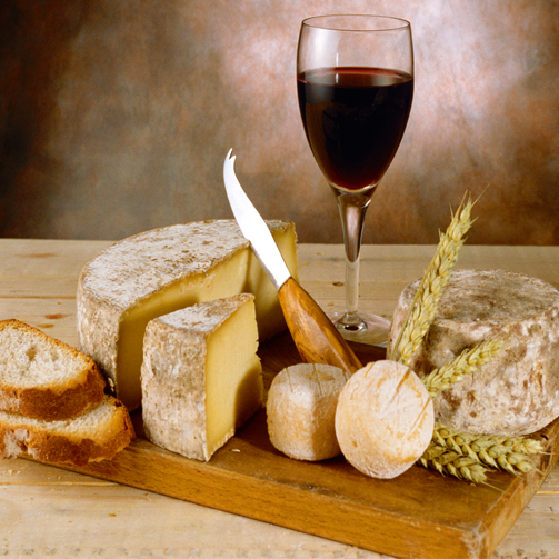 Cheese and wine make one awesome couple! Don't you agree? #WineLovers #CheeseLovers
