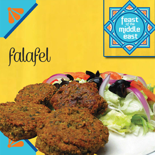 The green herbed falafel at Foodhall demands to be tasted. And what's more?! If you like it, you can buy it.
