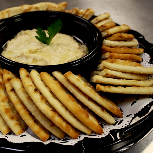 We cannot get over the hummus-pita bread combination. Can you?