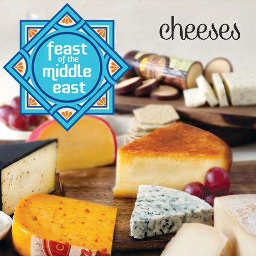 This whole month, you will find the best of Middle Eastern cheeses at Foodhall. Sample them, buy them and indulge in goodness.