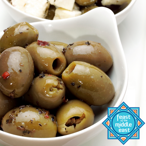 Olives make for great toppings and sides even! Buy the very best variety of green, black & kalamata olives from our stores and experiment with them.