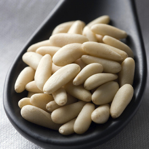 Middle-Easterners love their pine nuts! They use it as garnish in muharram as well as #hummus.
