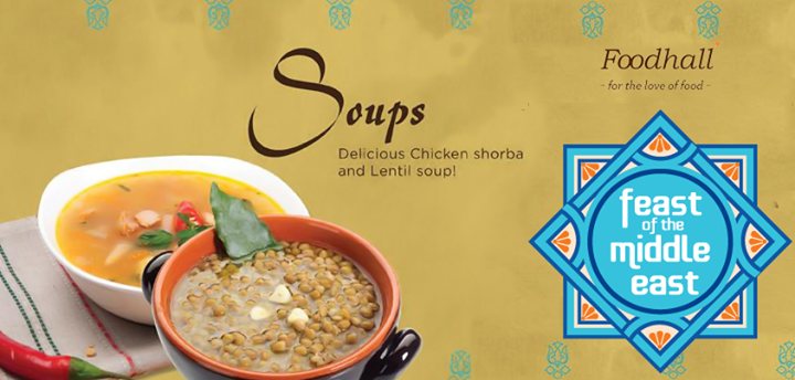 A Middle-Eastern lentil soup is a #delicacy that absolutely must be tried. And the great news is that you can try it at Foodhall!