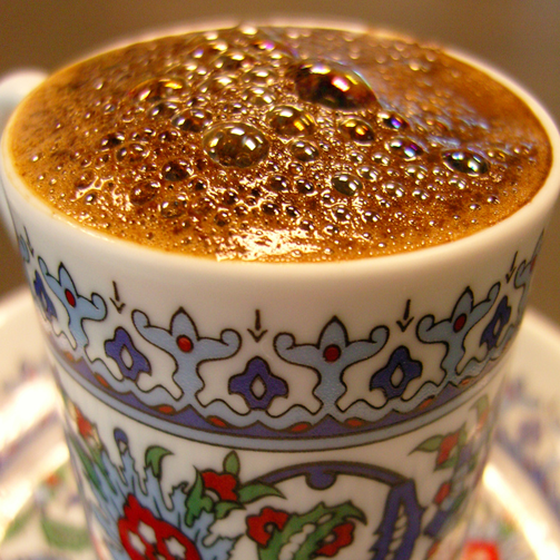 Have you ever tried Turkish coffee? It is strong and is sure to give you a kick in minutes.