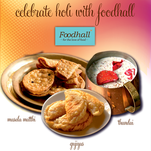 Foodhall wishes all it's patrons a very Happy Holi. :D