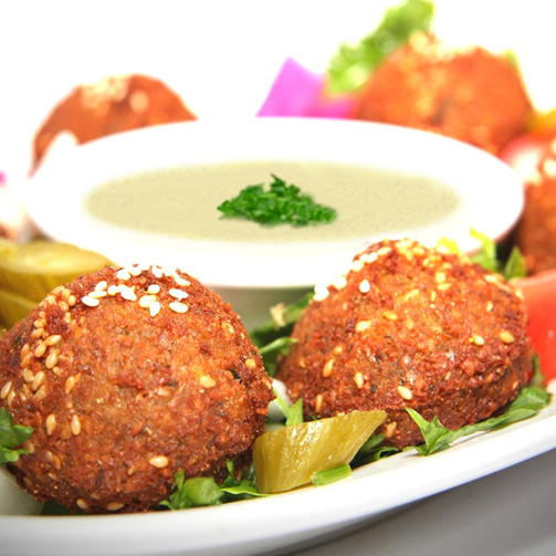 How about some falafel binging for lunch?!