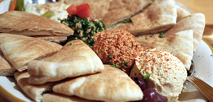 Nothing quite like a platter of hummus, babaganoush and some crispies. Yes?