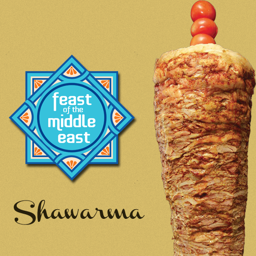 Shawarma is our favourite on-the-go food. And yours?