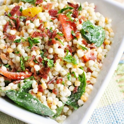 Enjoy a bowl of freshly made couscous salad at your nearest Foodhall, today!