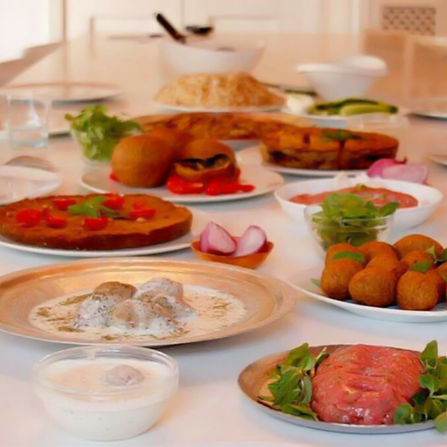 Today is good day to visit Foodhall and relish some divine #Lebanese food!