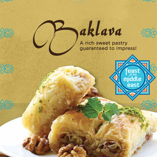 Baklava is one tasty #dessert to indulge in post a meal.