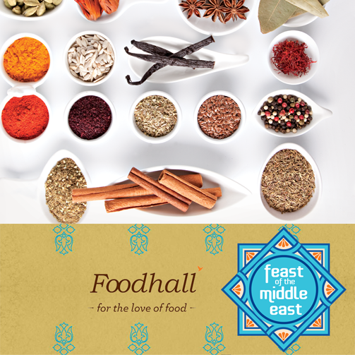 Middle Easterners love their spices. No wonder then that we Indians love Middle Eastern food.